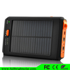 12000 mAh Solar Panel Charger Rain-resistant and Dirt/Shockproof Dual USB Port Portable Charger for mobile