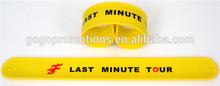 Promotion and Eco-friendly Reflective Slap Band Slap Bracelet
