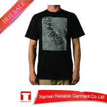 Hot Sell custom logo 95 cotton 5 spandex men t shirt