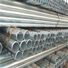 pre-galvanized steel round tubes