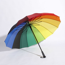 rainbow rain umbrella