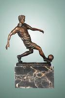 football player bronze sculpture and statues souvenirs wholesale TPE-737