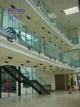 Commercial shopping mall handrails for outdoor steps / veranda
