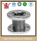 manufacturing stainless steel steam expansion joint with flat flanges