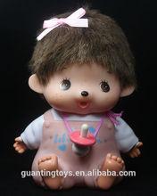 Monchichi Vinyl Toy, Roto cast Vinyl Toy, Custom made vinyl toy
