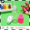 Hot seal! 10ml recycled pet flakes e liquids for cigarettes usa bottle ecig oil bottles