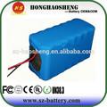 24v 13ah batteria agli ioni di litio per bici elettrica, pesca, carrello di golf