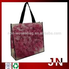 Polypropylene Laminated Non Woven Bag,Flower Pattern Shopping Bag