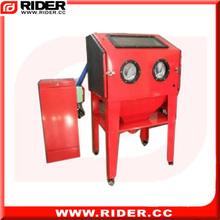 new 450L automatic sandblasting machine with CE