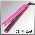 moda rosa cor placa de revestimento cerâmico alisador de cabelo