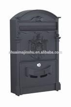POSTAL SERVICE traditonal antiquies cast aluminum mailbox