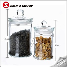 800ml 1200ml 1500ml square food glass jar glass packing