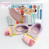 diabetic gel heel socks for dry feet, moisturizing gel heel socks five toes gel toe socks for cracked heels