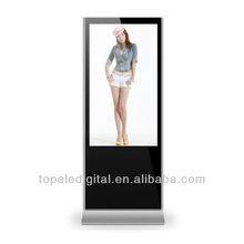 37 inch indoor floor standing vertical lcd advertising TV