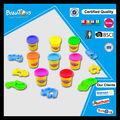 Nuevo producto suave de juguete para niños de color barro establece arcilla del arte fabricación de juguetes
