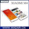 2014 Hot Selling Xiaomi mi4 M4 5'' Quad core Qualcomm Snapdragon 801 MIUI V6 3GB RAM 16GB ROM 13MP Camera Mobile Phone