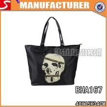 New Arrive PU Skull Shopping Bags For Women