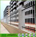 rifornimento della fabbrica moderna di ferro ornamentale recinzione punta di diamante pannelli