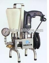 attrezzature professionali manural in poliuretano ad alta pressione pompa di iniezione di miscele per impermeabile