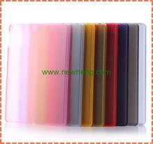 Transparent plastic PC case for ipad air