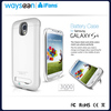 Portable USB External Rechargeable Backup Battery Power Bank Charger Case for Samsung Galaxy S4 i9500