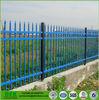 Black Wrought Iron Garden Top Wall Spike Fence