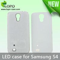 Led Light Sublimation Phone Case for Samsung S4 customized led case