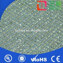 wholesale AB color hot fix rhinestone mesh for cloth