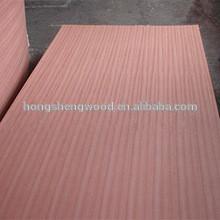 fsc certified wood(poplar core,sapelle face,B/BB grade)