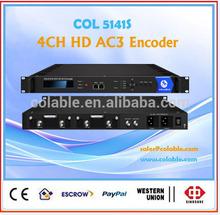 hd/sd sdi encoder, h 264 sdi to ip encoder Radio and station equipent for sale COL5141S