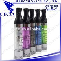 Newest products ce4 ce5 ce6 ce7 ce8 electronic cigarette ce7 atomizer