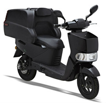 Koala EEC Delivery pedal assist electric scooter and two delivery boxes