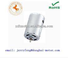 high torque dc 6v electric massage brush motor, micro fan brush motor, RS-540SH 12 volt electric dc motor 540 fan electric motor