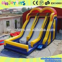 Lowest price guarantee water slip slide, inflatable slip and slide, inflatable double lane slip slide