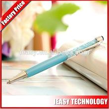 De alta qualidade do metal caneta stylus diamante brilhante smartphone toque caneta