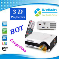Wholesale and factory price 800x 600p micro portable wireless mini led projector in hot sale
