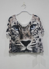 2015 hot selling women's printed short tops,young girl sexy top short top