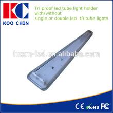 2 * 36 w fluorescente soporte de tubos de luz
