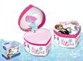 congelati Elsa e Anna rosa e blu musicale scatole di gioielli
