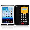 Black 3D telephone Design Silicone Case for iPad Mini2-890