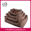 leopard luxury pet dog bed wholesale