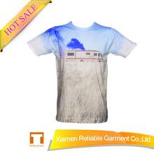 100% cotton plain white round neck t-shirt t-shirt company names