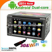 """6.2"""" Universal Autoradio Navegador GPS with dvd/tv/radio/Bluetooth"""
