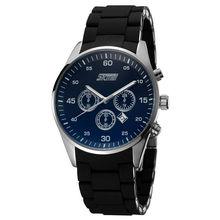 Splendid Water Resistant Mens Simple Quartz Luxury Dual Expensive Watches Wholesale Model #9065