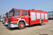 Howo 4 x 2 água petroleiro caminhão de bombeiros