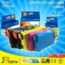 Epson Expression XP-201 Compatible Ink CISS T1971/T1961-1964 Excellent Print Effect