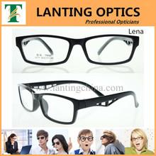 Koren designer tr90 optical eyewear frame hollow temple glasses frame