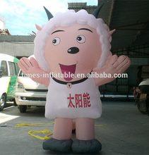 Updated customize inflatable cartoon girl
