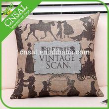 animal applique cushion