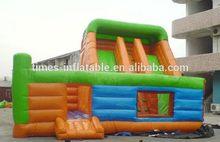 Modern branded fire trucks inflatable pool slide